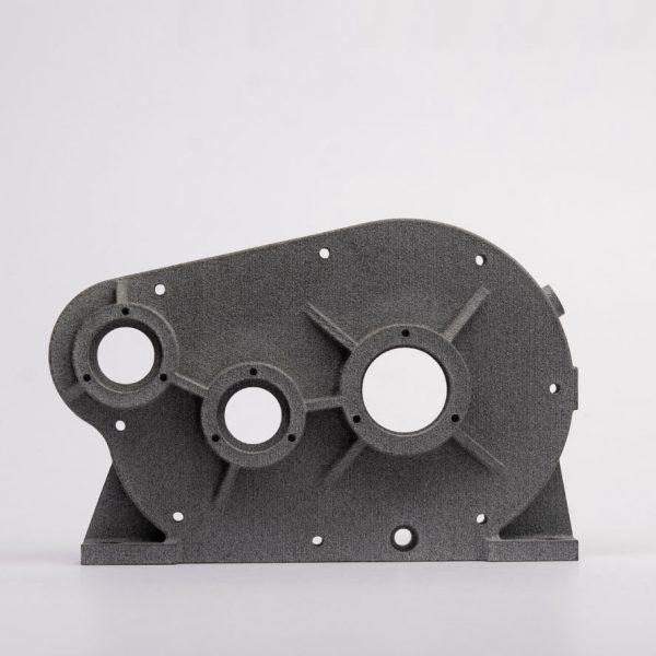 Raw Grey MJF Nylon 3D Printing