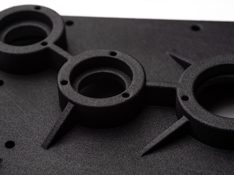 Multi Jet Fusion 3D Printing Malaysia Sample zoomed in