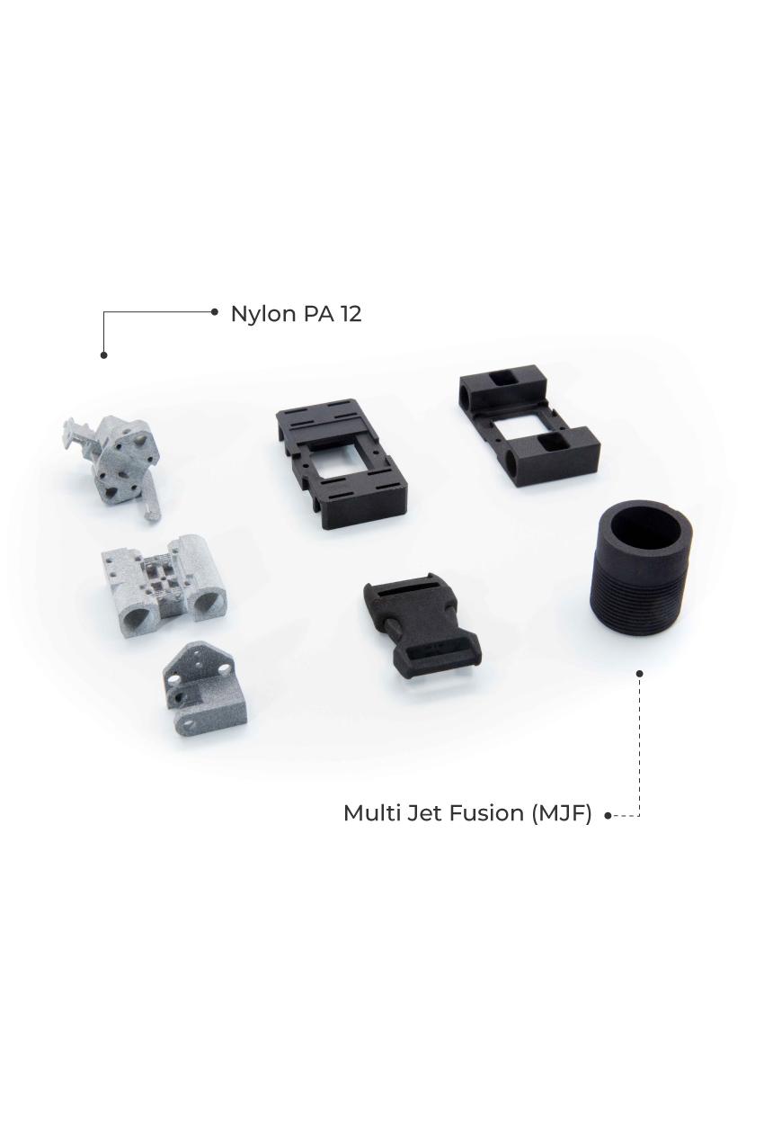 MJF 3D Printing Service Malaysia Material